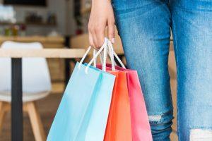 Shopping in Irvine Spectrum Center